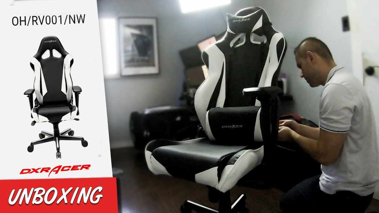 Dx Racer Chair Assembly New Office Gaming Unboxing sCthQrd