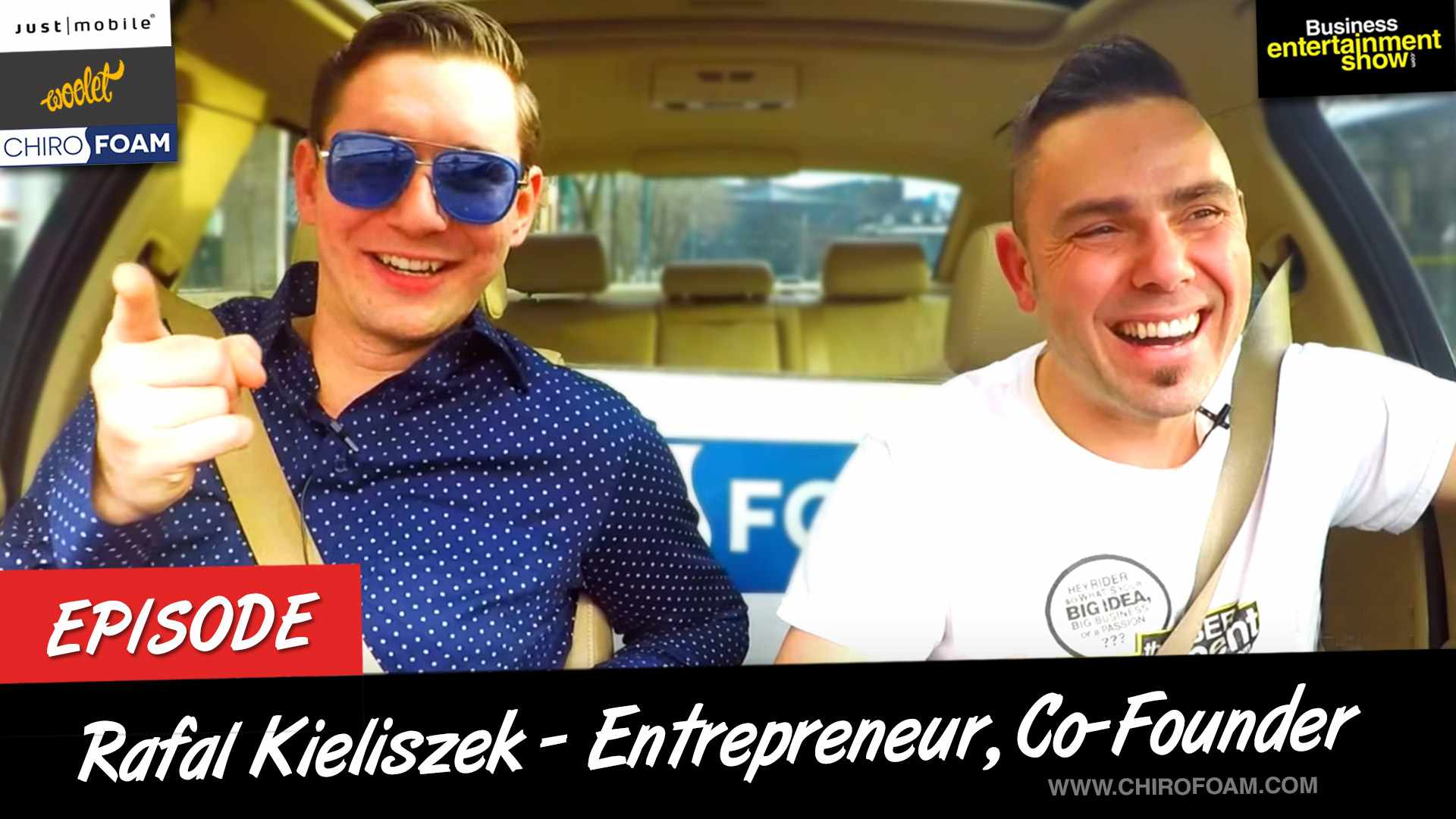 Entrepreneur Interview - Chirofoam Business Owner Rafal Kieliszek on Business Entertainment Show