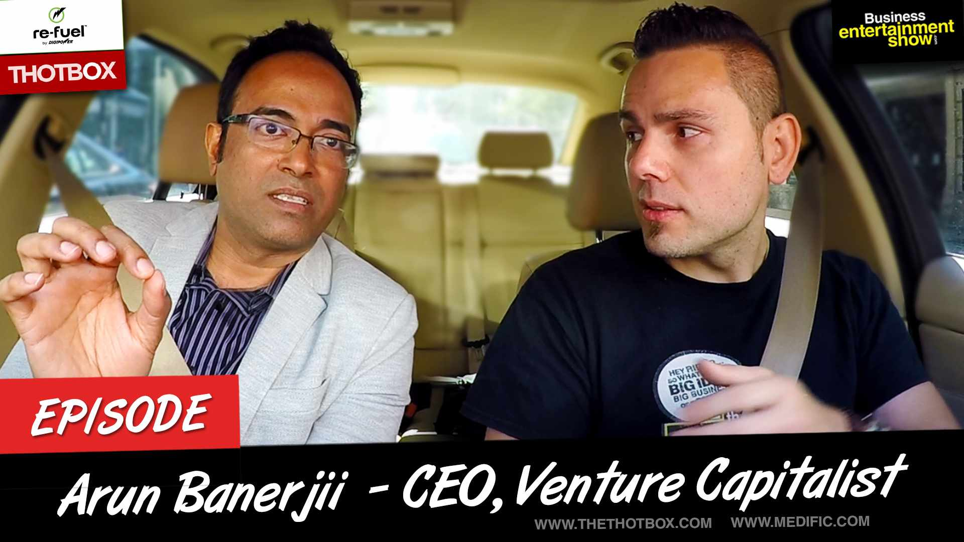 Entrepreneur Interview - Fintech CEO Arun Banerjii on Business Entertainment Show