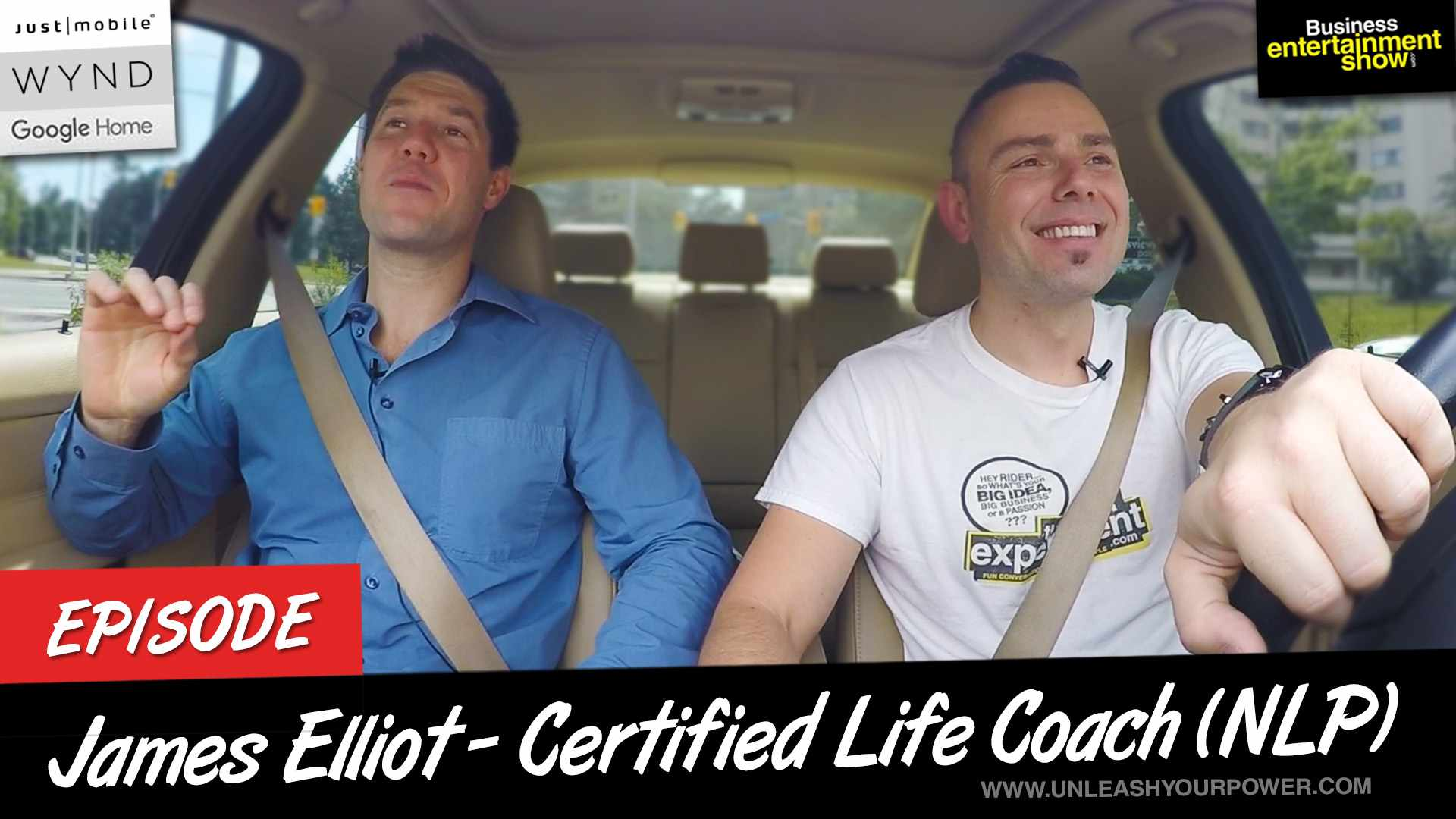 Entrepreneur Interview - Master Coach James Elliot on Business Entertainment Show ( Uber Experiment)
