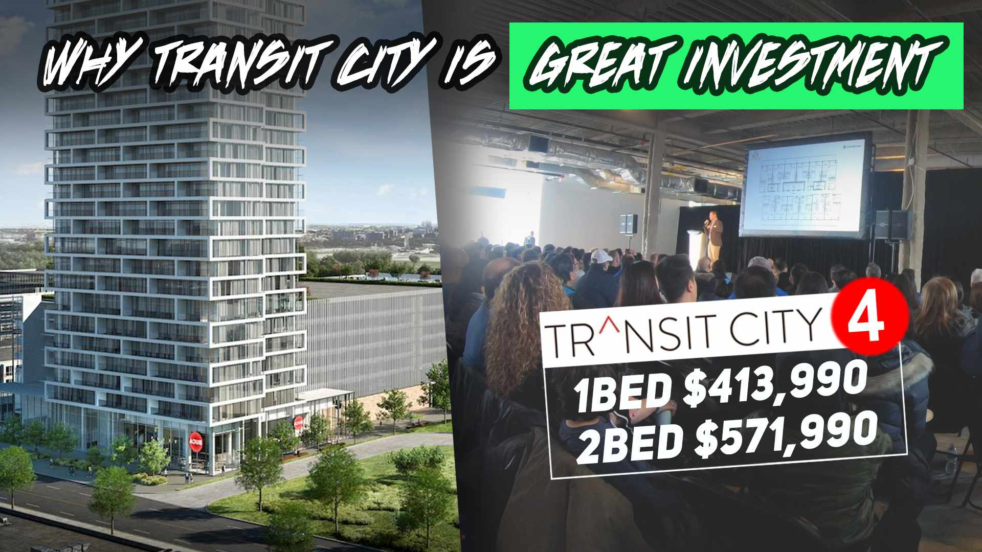 How Much $$ Will TRANSIT CITY CONDO Investors Make? TC4 TC5 Vaughan Presentation