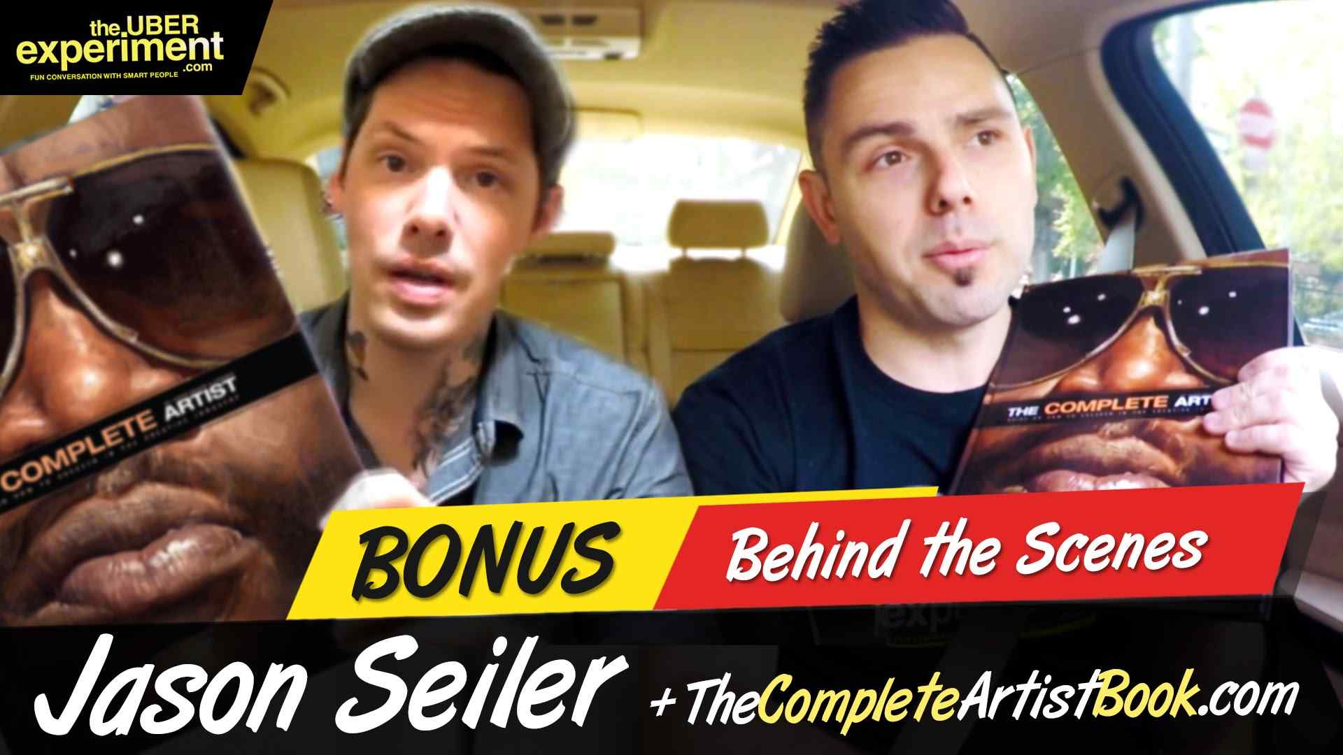 JASON SEILER's Complete Artist Book - Guide To Success on The Uber Experiment Reality Talk Show