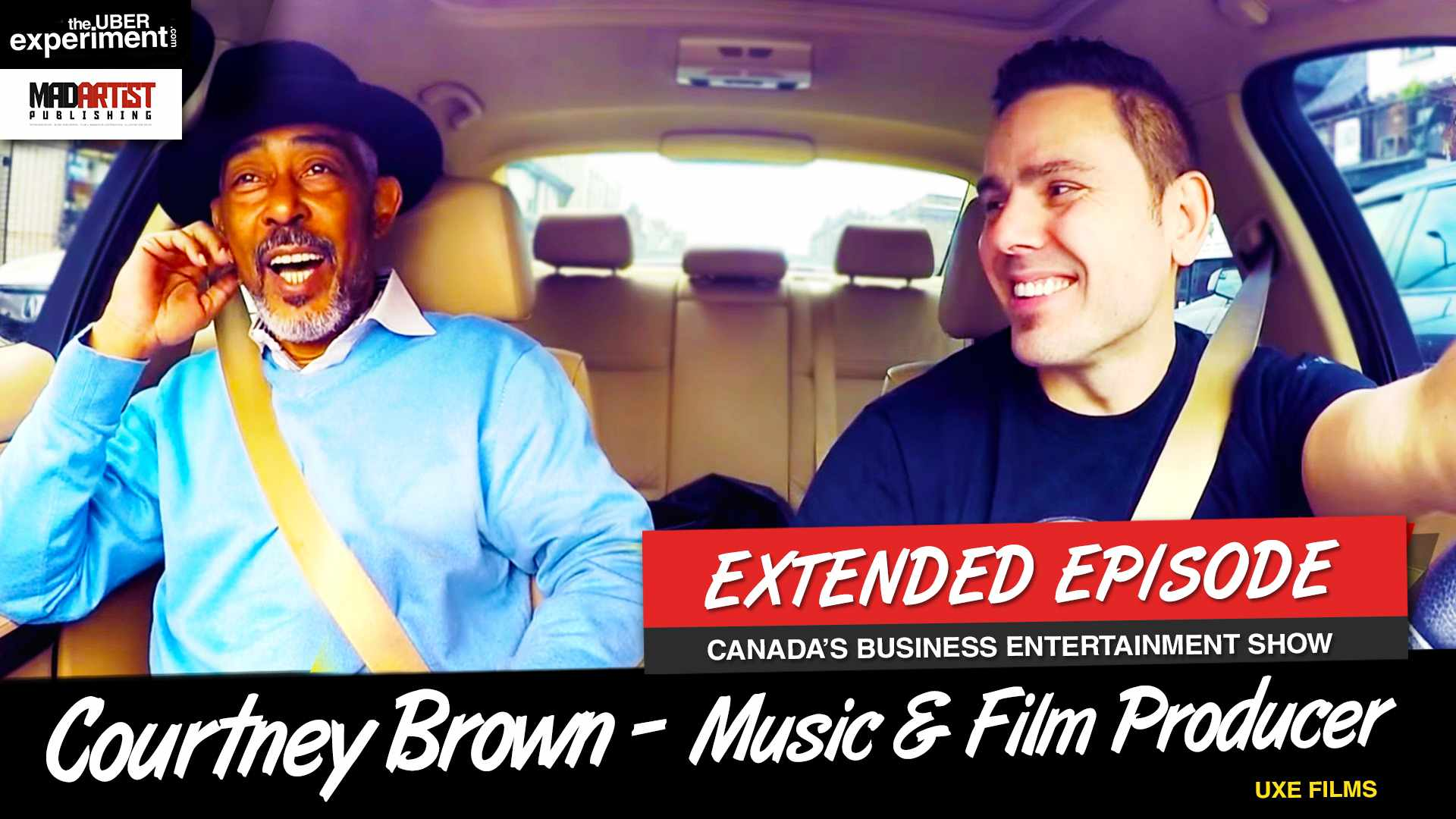 WE'RE GONNA BE DIRTY COPS - Marcin Interviews Music/Film Producer Courtney Brown on UBER Experiment