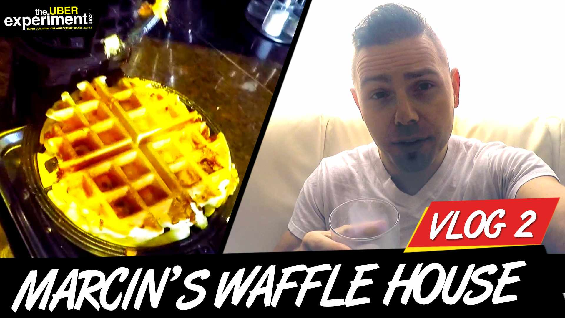 MARCIN's WAFFLE HOUSE! (The Uber Experiment Behind The Scenes /w Entrepreneur Marcin Migdal)