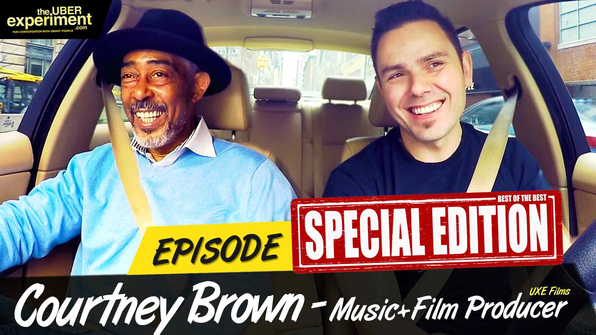 Music & Film Producer COURTNEY BROWN on The UBER Experiment Reality Talk Show - SPECIAL EDITION