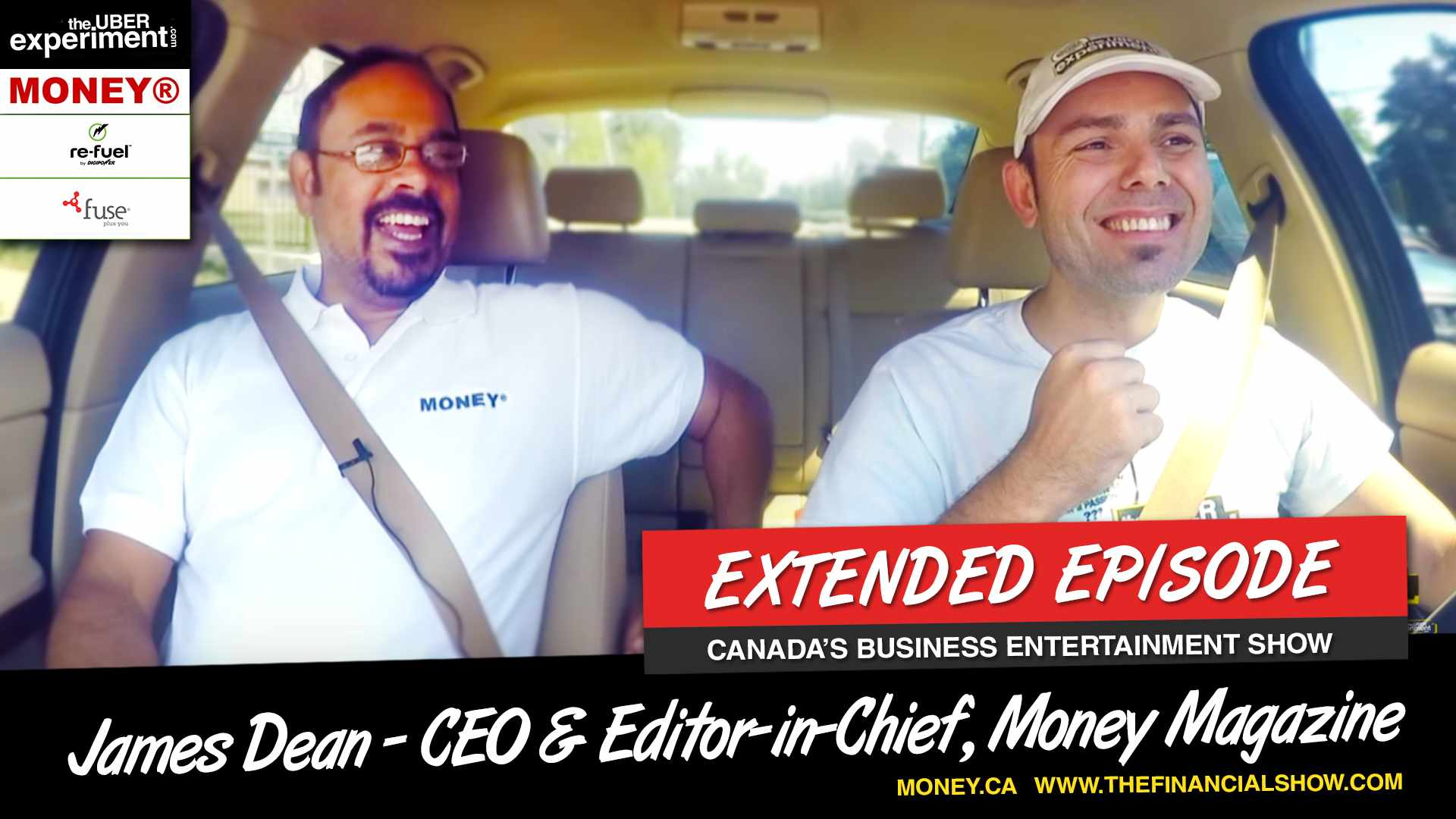 ROBBING A BANK WITH JAMES DEAN (Editor & President of MONEY Magazine on The Uber Experiment)