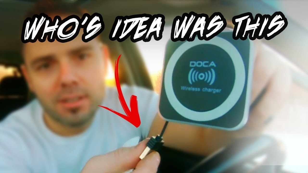 SMARTEST CAR PHONE CHARGER EVER... Retractable Magnetic DOCA Wireless Car Charger with vent mount