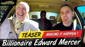 MAKING IT HAPPEN - Billionaire Edward Mercer & Anil R. on The UBER Experiment Reality Talk Show