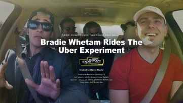 Child Actor & Canadian Celebrity Bradie Whetham Rides The Uber Experiment Reality Show