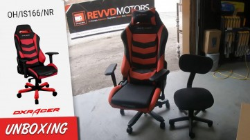DXRacer Gaming Chair Giveaway & Assembly at RevvdMotors. OHRV131RB IRON SERIES Office Chair UNBOXING