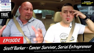 Entrepreneur Interview - 5 Time Cancer Survivor Scott Barker on Business Entertainment Show