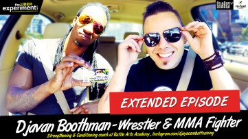 From Stealing Cars to MMA Fighting & Pandas - Trainer & Wrestler DJ Boothman On The Uber Experiment
