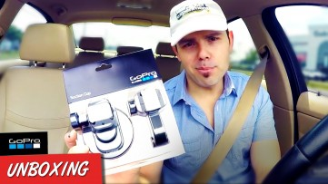 GOPRO SUCTION CUP Mount Unboxing, Road Test & FULL Review - Gadget Reviews on The Uber Experiment