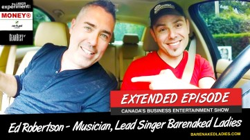 I MET BNL'S ED ROBERTSON IN AN UBER (The Uber Experiment rides with Band Member of Barenaked Ladies)