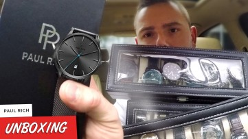PAUL RICH Hampton Grey Mesh Watch Unboxing & Review - A $100 Watch that looks like $1000??!
