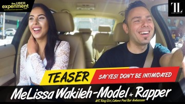SAY YES! DON'T BE INTIMIDATED - Model, AFC Girl MELISSA WAKILEH on The Uber Experiment Reality Show