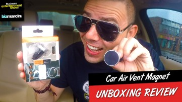 STRONGEST & SLICKEST MAGNETIC CAR VENT MOUNT -  Unboxing & Gadget Reviews