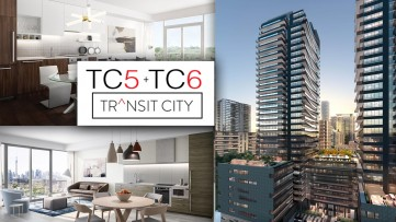 Transit City Condos Vaughan TC5 / TC6 Builder Floor Plans, Prices (Full Presentation)