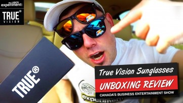 TRUE VISION Sunglasses VS. Super Expensive Ones: UNBOXING Video & Review on The Uber Experiment