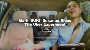 TV Host & Youtuber Mark SUKI Suknanan rides The UBER Experiment Reality Show