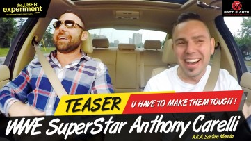 U HAVE TO MAKE THEM TOUGH! - WWE Wrestler Anthony Carelli (Santino Marella) on The Uber Experiment