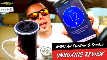 WYND Air Purifier & Air Tracker Unboxing & In-Depth Review - IS IT REALLY AS GOOD AS THEY CLAIM?