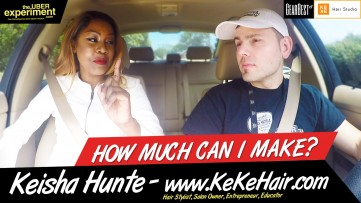 Womenpreneur & Hair Salon Owner KEISHA HUNTE on MAKING MONEY IN THE INDUSTRY - The UBER Experiment