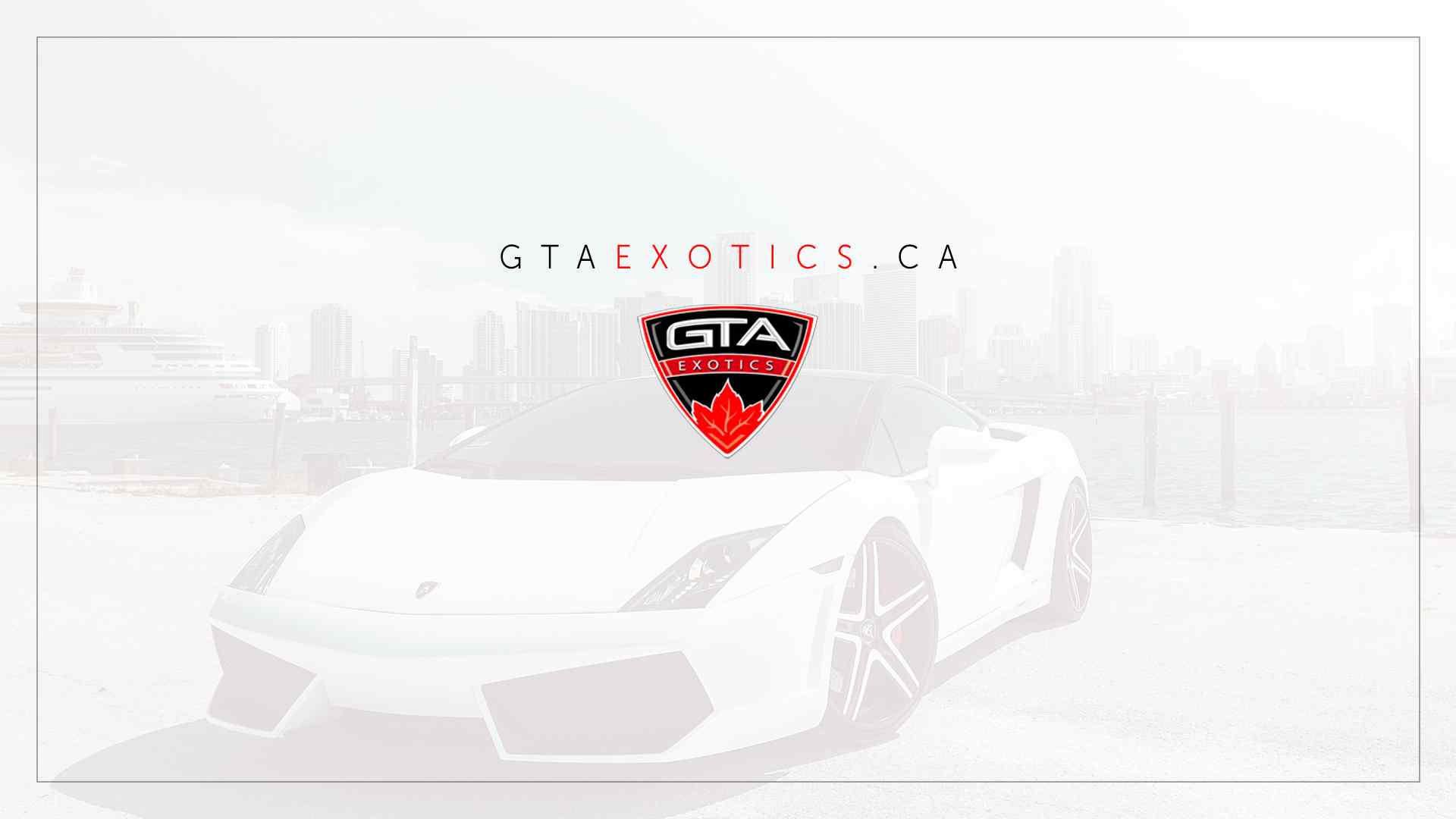 Toronto Exotic Car Rental - GTAExotics.ca