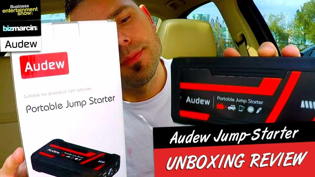 UNBOXING AUDEW - Powerful Jump-Starter (16800mAh) Power Bank That. START EVERY SINGLE CAR!!