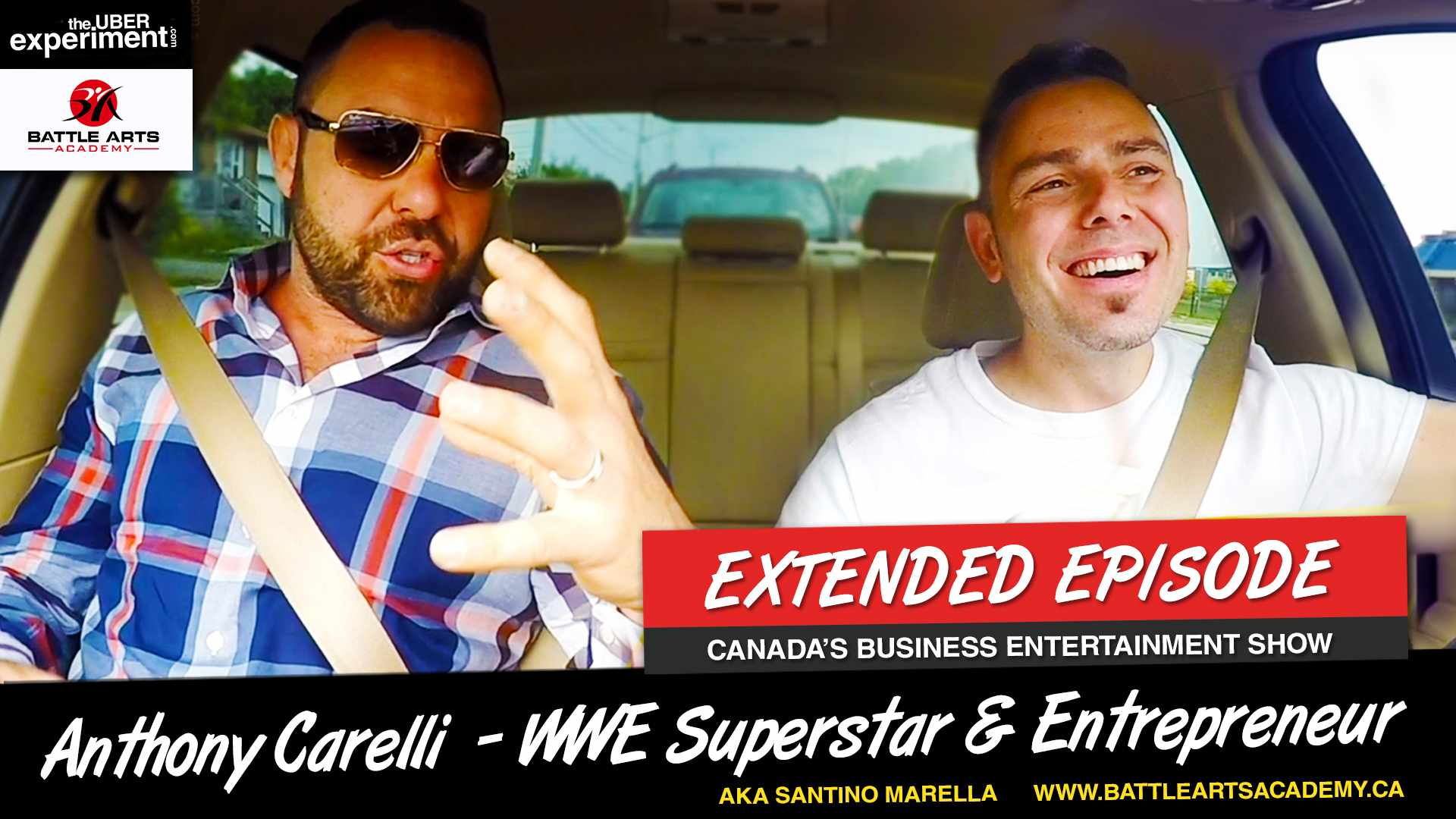 WWE Superstar Anthony Carelli (AKA Santino Marella) Talks Wrestling, Entrepreneurship, Family & Political Future on The UBER Experiment