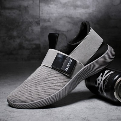 Men's Casual Slip-on Sports Sneakers - GREY