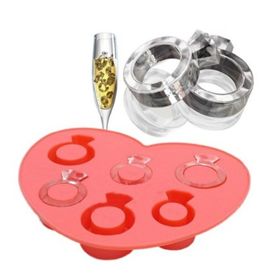 Ring Shape Ice-Tray Ice-cube Mould