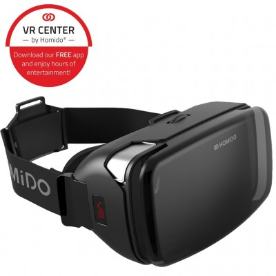 HOMIDO V2 VR Headset - Virtual Reality Smartphone Fit For 4'-5.7' Iphone and Android
