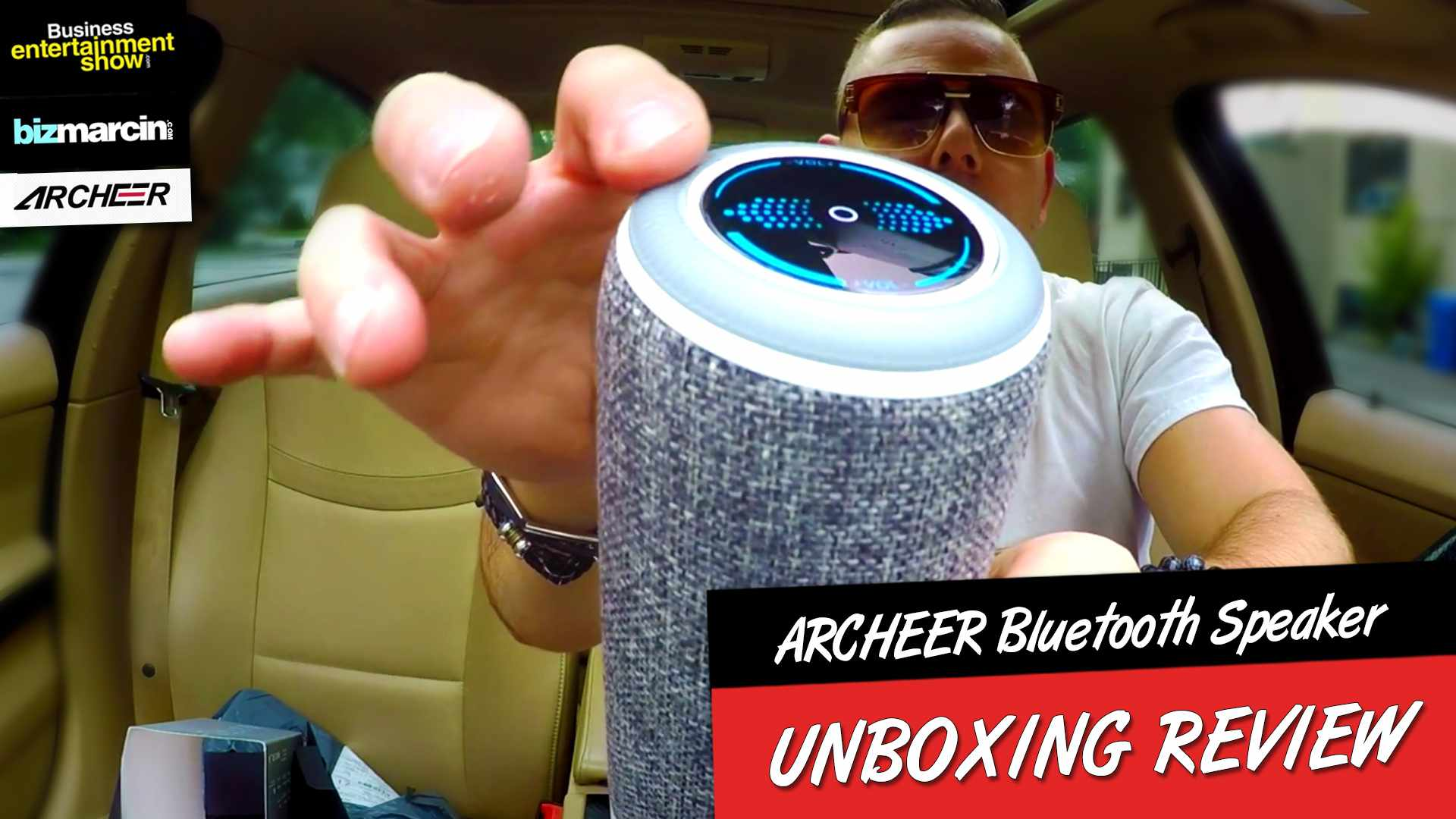 UNBOXING ARCHEER A225 Portable Bluetooth Speaker. Best priced Beach Speaker of 2017