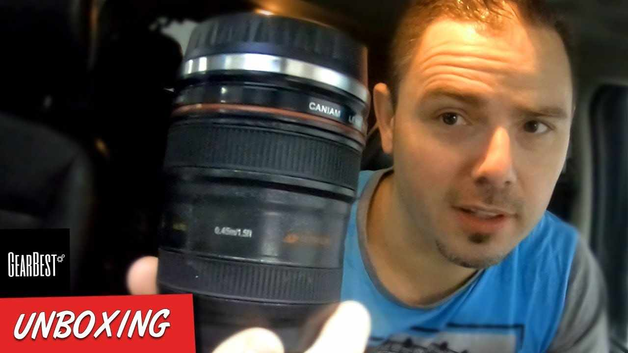 BEST THINGS ABOUT EF 24-105mm f4L Lens COFFEE MUG. Unboxing Review