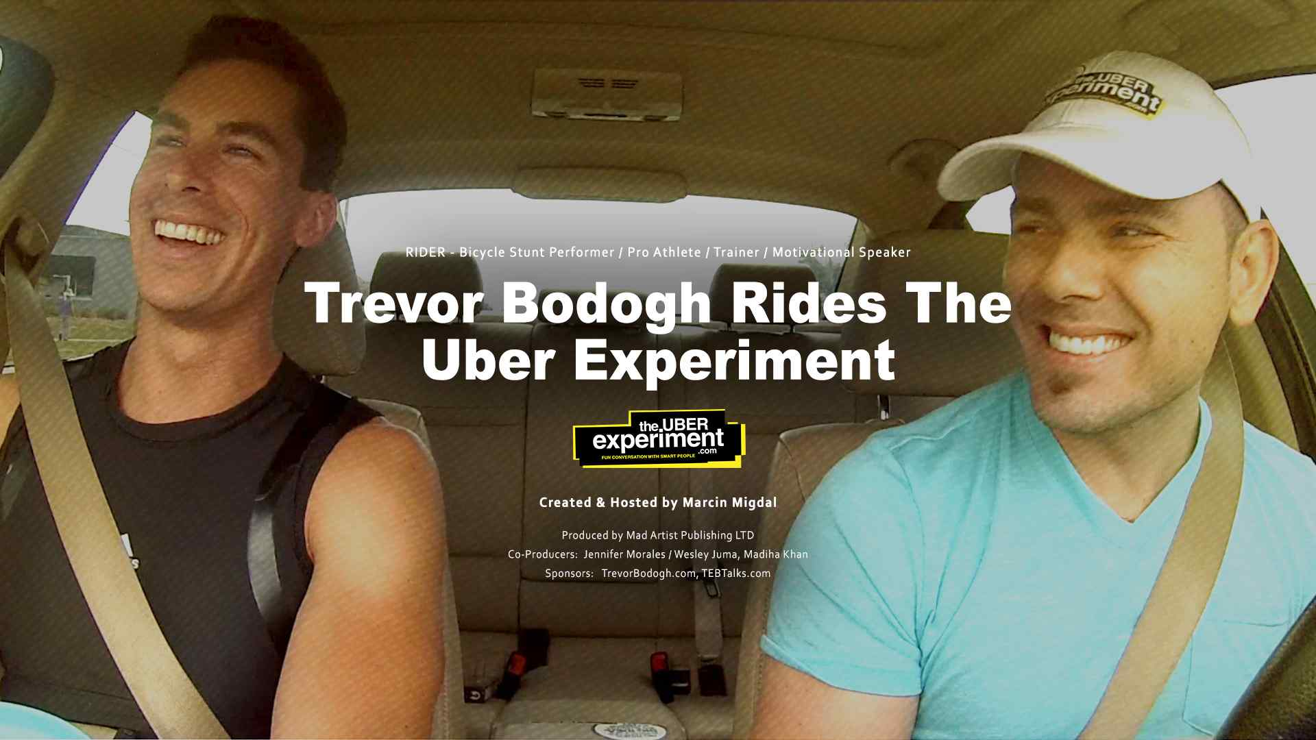Bicycle stunt performer & trainer Trevor Bodogh rides Business Entertainment Show
