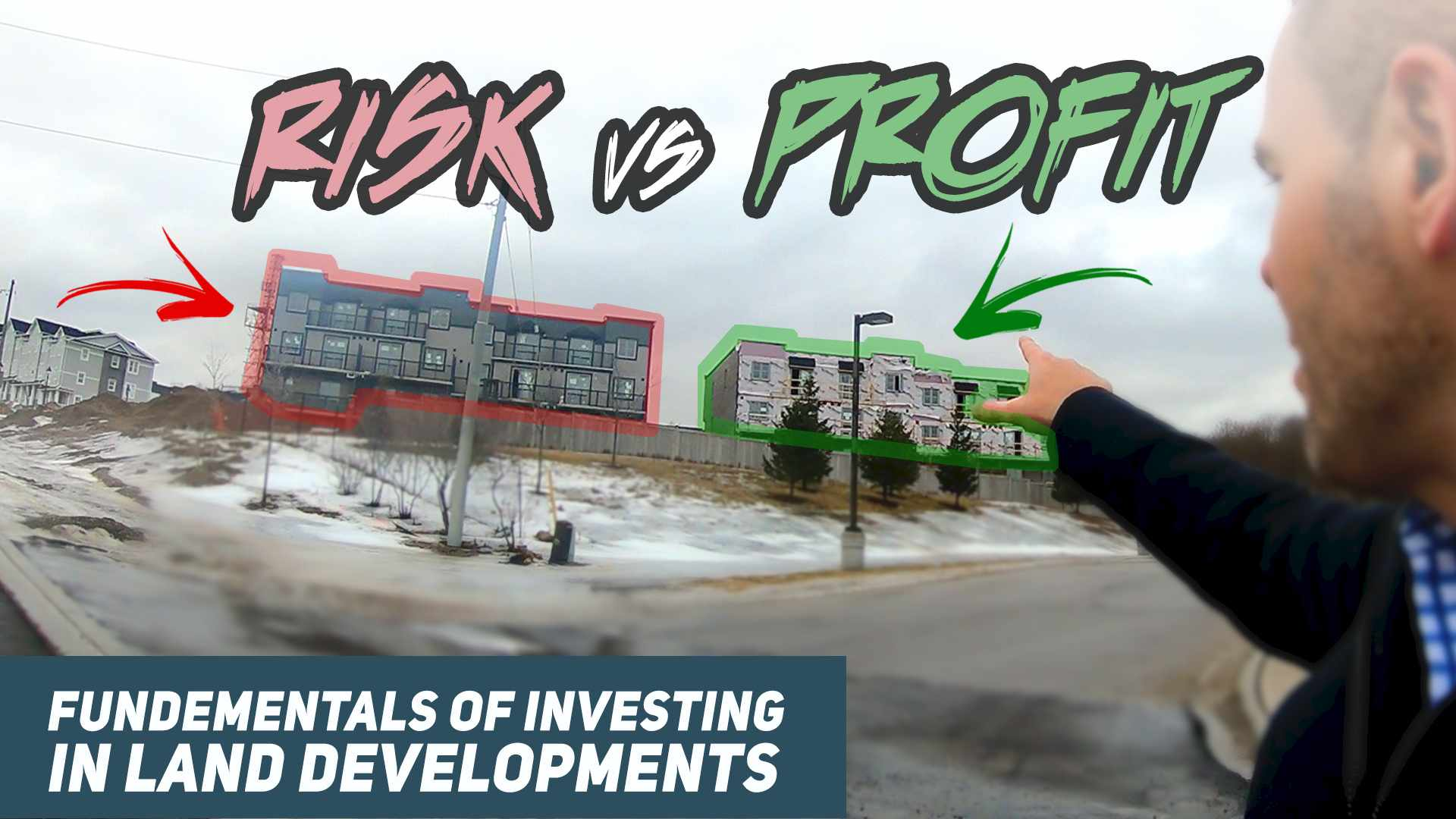 How Risky and Profitable are Land Development Deals? Investing in Real Estate For Beginners Canada