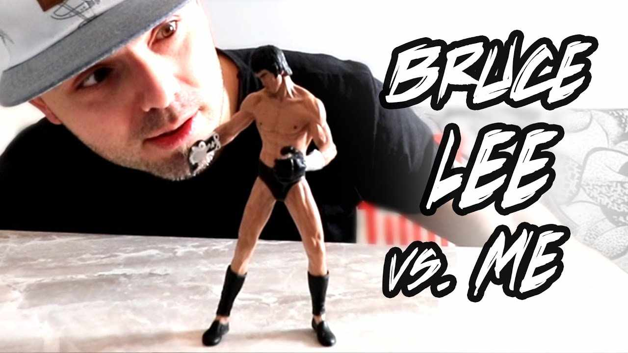 I TAKE ON BRUCE LEE in a Staff / Kick Showdown...Storm Collectibles Bruce Lee Action Figure Review