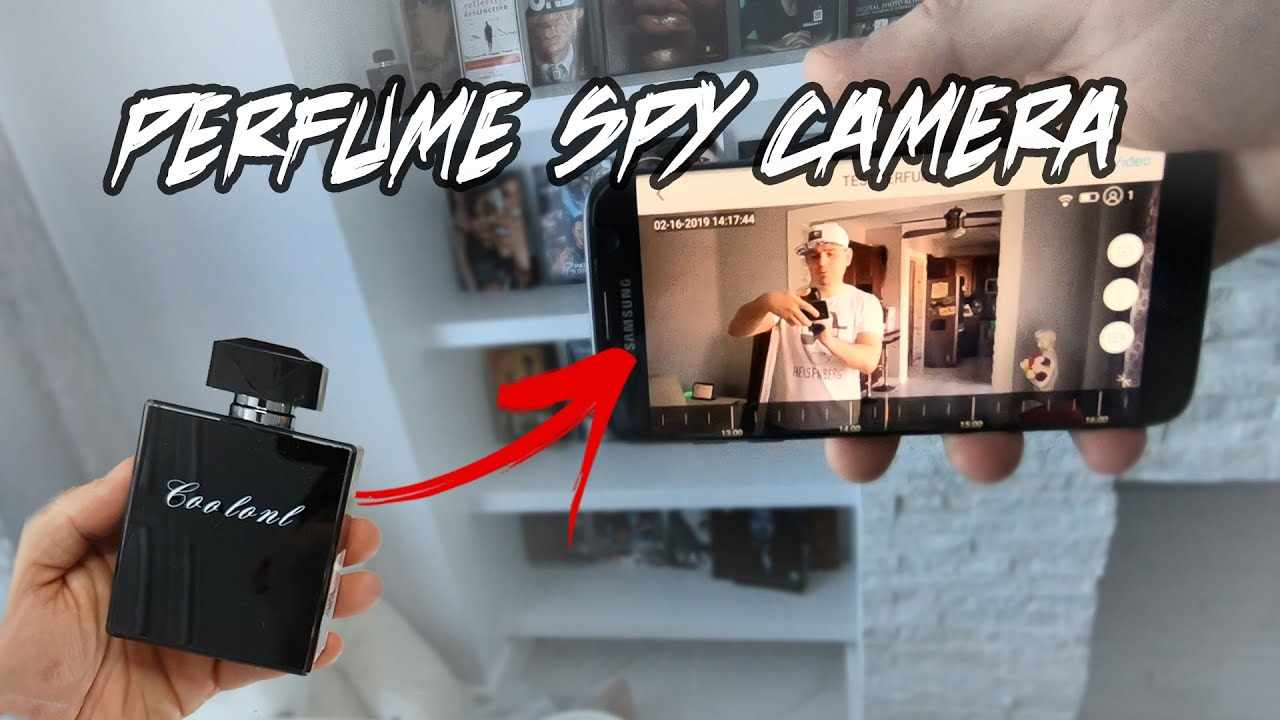LAWS ABOUT SPYING & Spy Cameras.. Testing My Perfume Bottle Spy Camera by Conbrov / Portocam