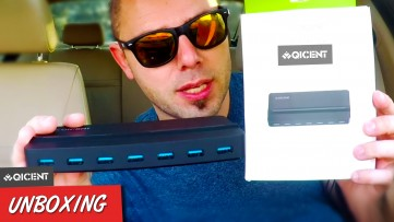 Most Useful Product Ever - QICENT 7 Port USB 3.0 HUB (QIC H7P) Unboxing & Review
