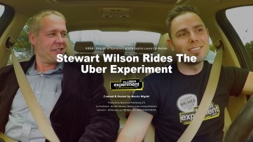 Stewart Wilson of GTA Exotics Rides The UBER EXPERIMENT Reality Show