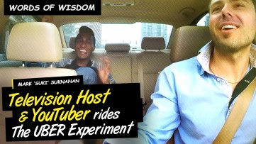 Words of Wisdom by TV Host & Youtuber Mark SUKI Suknanan on The UBER Experiment Reality Show