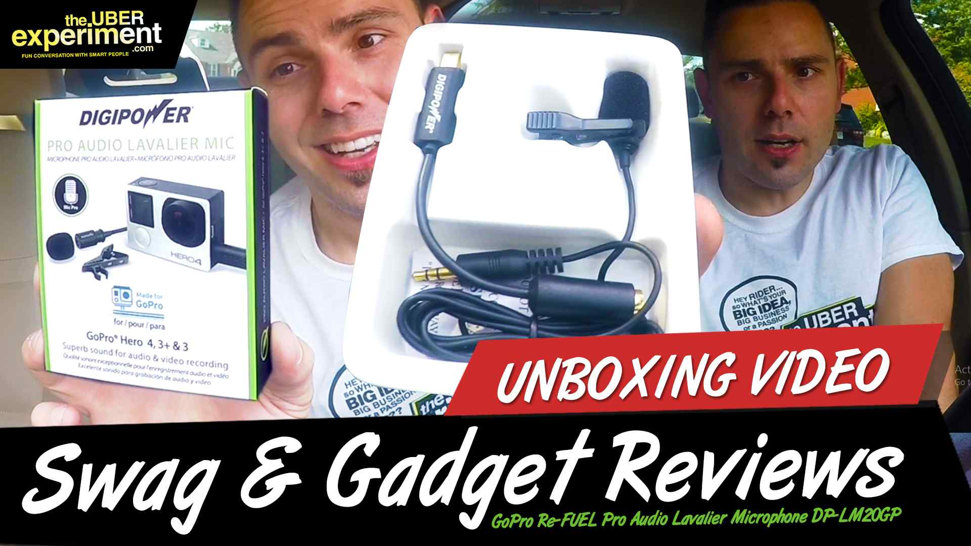 Unboxing & Gadget Review of GoPro Re-FUEL Pro Audio Lavalier Microphone DP-LM20GP - by The Uber Experiment